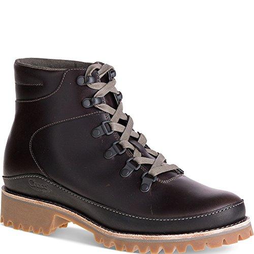 Chaco Womens Fields-W Hiking Boot Black Full Grain Leather