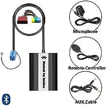 Bluetooth USB AUX Adaptador de música con manos libres con micrófono + Cable mando a distancia para Audi (de 8pin mini ISO) con Concert 1/2Chorus 2Symphony 1/2Navegación MFD Plus (RNS de D)