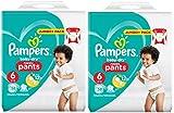 Pampers Baby-Dry Pants (Größe 6 (ab 15 kg), Windeln mit Luftkanälen) 116 Windeln