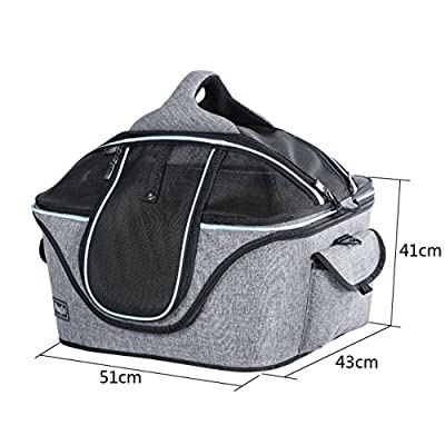 Petsfit Cat Carrier, Grey Color, Two Sizes are available from Xiamen JXD E-commerce Co., Ltd