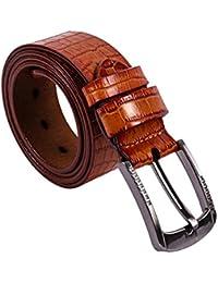 SAMGU Mode Men Belt Crocodile ceinture en cuir de hommes