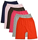 Best Girl Clothes - BODYCARE Pure Cotton Plain Multi-Coloured Cycling Shorts Review