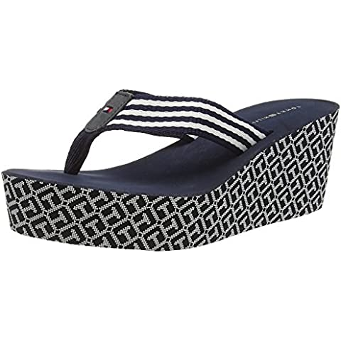 Tommy Hilfiger M1285andy 1d, Flip-Flop Para Mujer