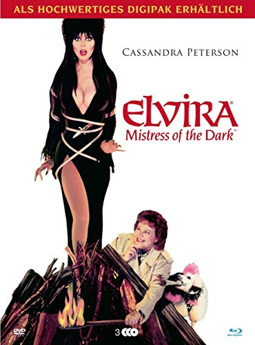 Elvira - Mistress of the Dark - Modularbook (+ DVD) [Blu-ray]