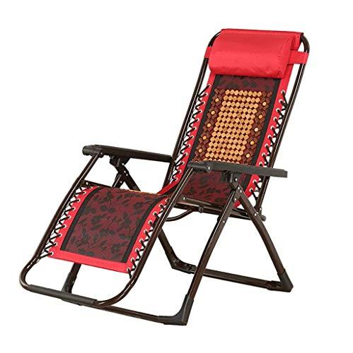 SEEKSUNG Fauteuil Relax,Loisirs Portable à Bascule en arrière, Chaise Siesta Maison Multi-Fonctions, utilisable en extérieur, Salon, Jardin