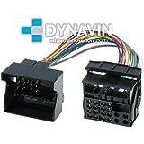 ISO-QUADx2 - Conector iso universal para instalar radios en BMW, Citroen, Ford, Mercedes, Opel, Peugeot, Skoda y Volkswagen.