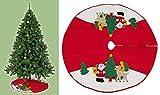Weihnachtsdecke Weihnachtsbaumdecke Decke für Tannenbaum Unterlegdecke Baumdecke