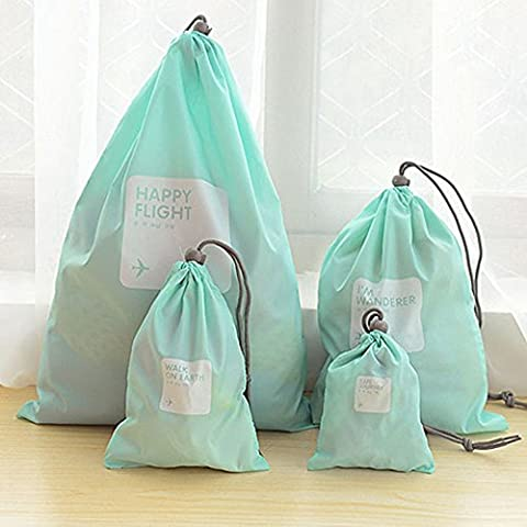 Universal impermeable cordón bolsa de almacenamiento para viaje en exteriores Home -4diferentes tamaños
