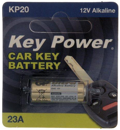 Key Power 23A-KP Pile alcaline pour clé de voiture 12 V