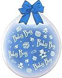 Verkauf durch Lollipop Baby Boy' Latex-Weithals-Rundballon/Stufferballoon/Verpackungsballon, ca. 45 Ø