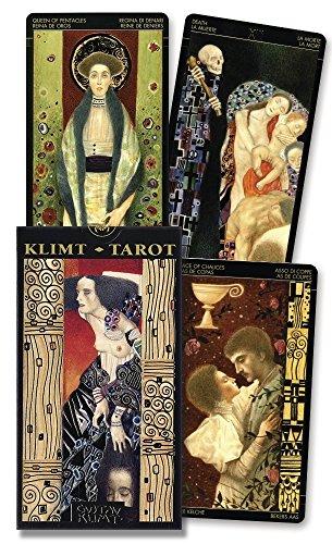 Golden Tarot of Klimt Cards (Lo Scarabeo Decks)