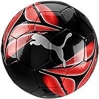 PUMA One Triangle Ball, Pallone da Calcio Unisex Adulto, Black-Nrgy Red-Silver, 4