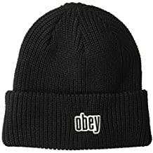 OBEY Jungle Beanie Cappello Uomo 100030139 2001 Black 2951c262b325