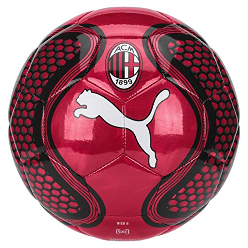 Puma AC Milan Future, Ball Unisex – Adulto, Tango Red-puma Black, 5