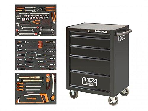 Preisvergleich Produktbild Bahco bah1470bl 5Schubladen Werkzeugwagen mit Inlays und–Werkzeuge–Orange