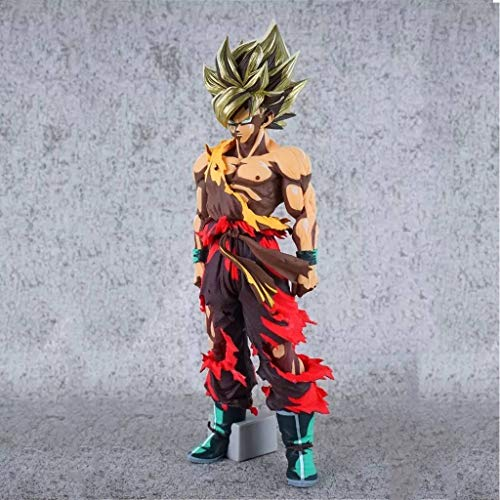 HappyL Juguete de Color Comic Estatua Dragon Ball/Super One Goku Adornos Decorativos Anime / 34cm en Caja Estatua de Juguete