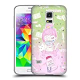 Head Case Designs Deprimiert Yami Kawaii Ruckseite Hülle für Samsung Galaxy S5 Mini