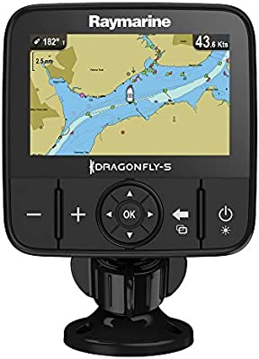 Raymarine e70295de Nag Dragonfly GPS, trazado de mapas (5m, 12,7cm (5pulgadas), North America Navionics, cartografía)