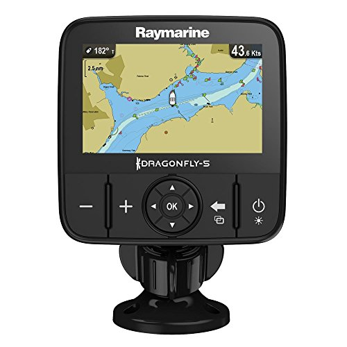Raymarine E70295-NAG Dragonfly GPS Kartenplotter (5 m, 12,7 cm (5 Zoll), North America Navionics, Kartografie)