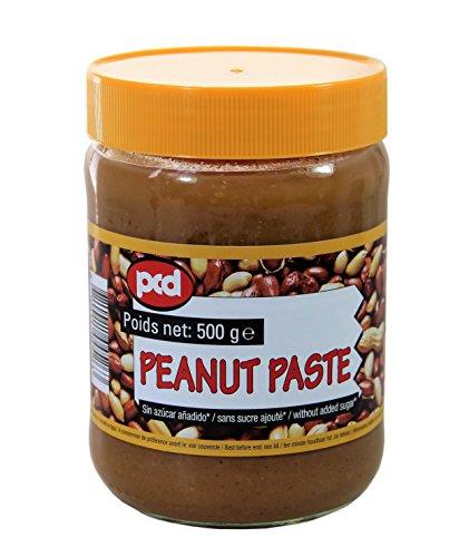[ 500g ] pcd Erdnusspaste OHNE ZUCKERZUSATZ / Peanut Paste without added sugar