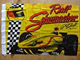 Jordan Ralf Schumacher Racing Fahne 100x140 cm