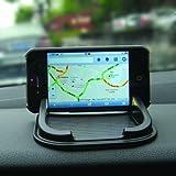 Auto-Innenraum Rutschfeste Armaturenbrett-Halterung, Ladegerät, & Halterung für Iphone / Satellitennavicationssystem