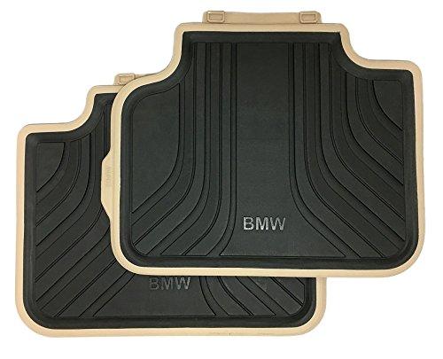 ORIGINALE BMW posteriori per tutte le stagioni di gomma tappetini per 2er Active Tourer F45Modern Antracite/Beige