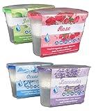 Luftentfeuchter Granulat Luftentfeuchter mit Lavendelduft, Hilfreich gegen Dampf, Schimmel, Mehltau und Kondensation, absorbiert Wasser bis zum dreifachen Eigengewicht