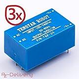 AZDelivery ⭐⭐⭐⭐⭐ 3 x 220V zu 5V Mini-Netzteil für Arduino und Raspberry Pi