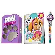Paw Patrol Diario con bolígrafo, 6 colores (Kids 864443)