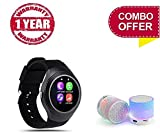 You Gadget (TOP SELLING) Y1 Smart Watch Round Support Nano SIM &TF Card With Bluetooth 3.0 Men Women Business Smartwatch