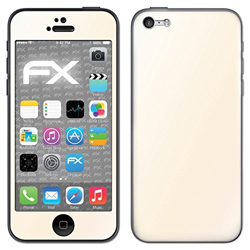 "Skin Apple iPhone 5C ""FX-Carbon-Black"" Designfolie Sticker FX-Variochrome-Pearl"