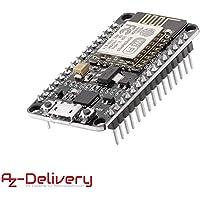 AZDelivery NodeMCU Lua Amica Modul V2 ESP8266 ESP-12E WIFI Wifi Development Board mit CP2102 und gratis eBook!