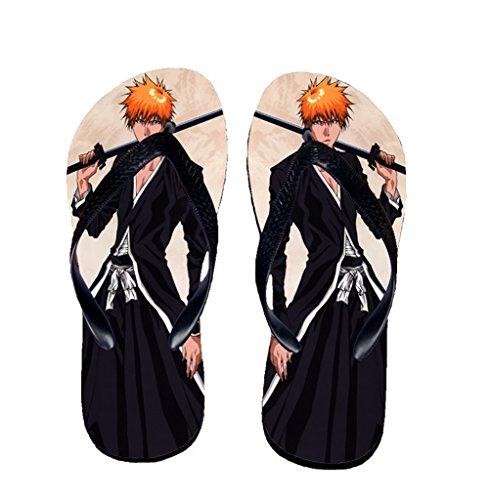 Bromeo Bleach Anime Unisex Flip Flops Zehentrenner Flip Pantoffeln 244