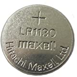 5 Pieces of Maxell LR1130 Alkaline Button Coin Cell Battery 1.5V Imported LR 1130 Fresh Stock