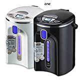 GPC Electric Water Bottle 304 Stainless Steel Automatic Insulation One of the Kettle Electric Kettle Home 4L 750W Electric Kettles,Black