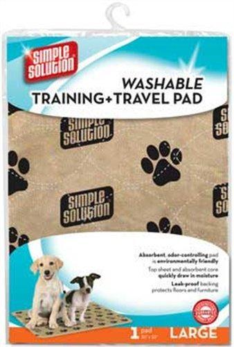 simple solution Washable Training & Travel Pad - Large (Pads Training Solution Simple)