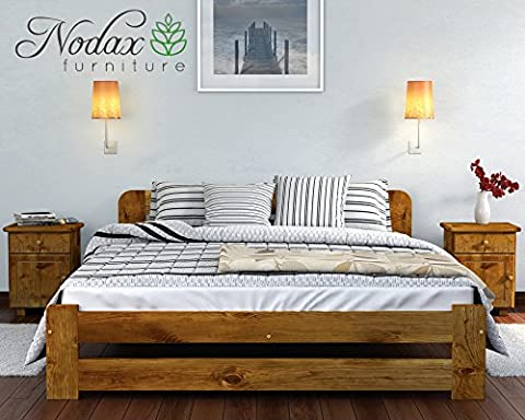 New Solid Wooden Pine Bed Frame