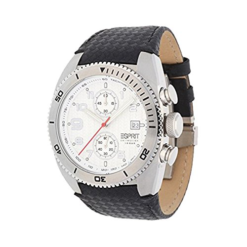 Esprit Unisex Analogue Watch with White Dial Analogue Display - EL900231002