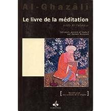 Le livre de la méditation kitab al-tafakkur