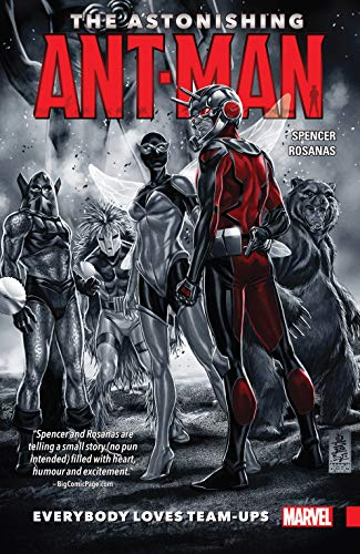 Collects The Astonishing Ant-Man #1-4, Ant-Man: Last Days #1 & Ant-Man Annual #1.Scott Lang's All-New, All-Different life as Ant-Man is a social whirl — including a team-up with Sam Wilson, the new Captain America! But Scott's reunion with ex-gir...