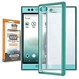 Orzly® - Coque FUSION Bumper Case pour NEXTBIT ROBIN SmartPhone (2016) Antichocs - Coque Rigide avec Bordure Renforcée MINT VERT spéciale absorption d'impact avec dos 100% transparent