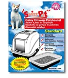SwissPet Katzen-Toilettenbeutel Einweg-Polybeutel Katzenklo, 12 Stück (XL (70 x 40 cm))
