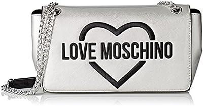 Love Moschino - Moschino, Shoppers y bolsos de hombro Mujer, Silber (Silver), 8x16x28 cm (B x H T)