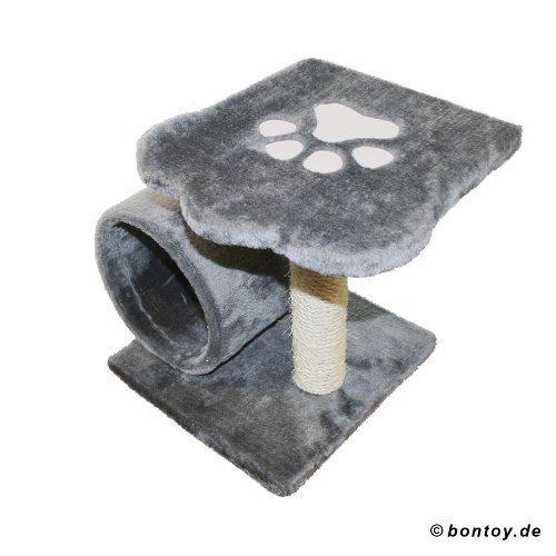 Produktabbildung von Katzenkratzbaum LUCKY grau 35 cm