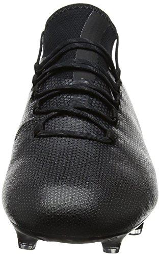 adidas X 17.1 Fg, Chaussures de Football Homme, 44.5 EU Noir (Core Black/core Black/utility Black)