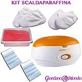 Parafina (Kit completo) profesional Cuidado Manos Y Pies calentador para parafina esteticista