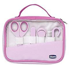 Idea Regalo - Chicco 00010019100000 Igiene e Benessere Set Manicure Bambina, Rosa