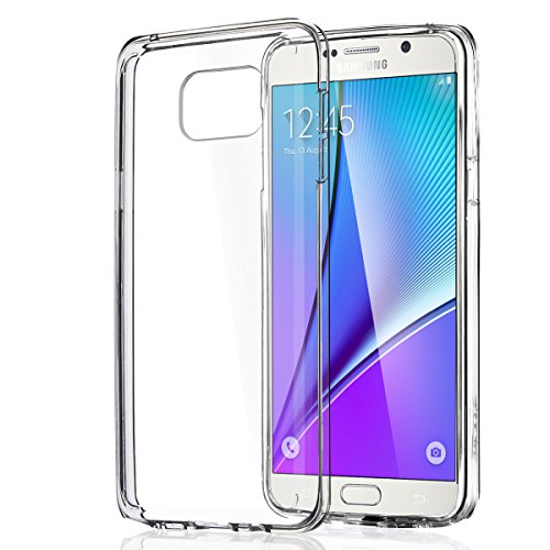 Ulak Mobile Case For Galaxy Note 5 (Transparent)