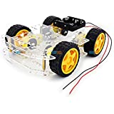 Chassis Transparent 4Wd Smart Racing Car - Kg192